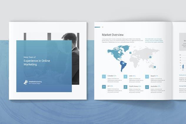 Creative Marketing – Company Profile Square