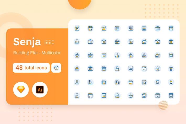 Thumbnail for Multicolor Senja - Edificio