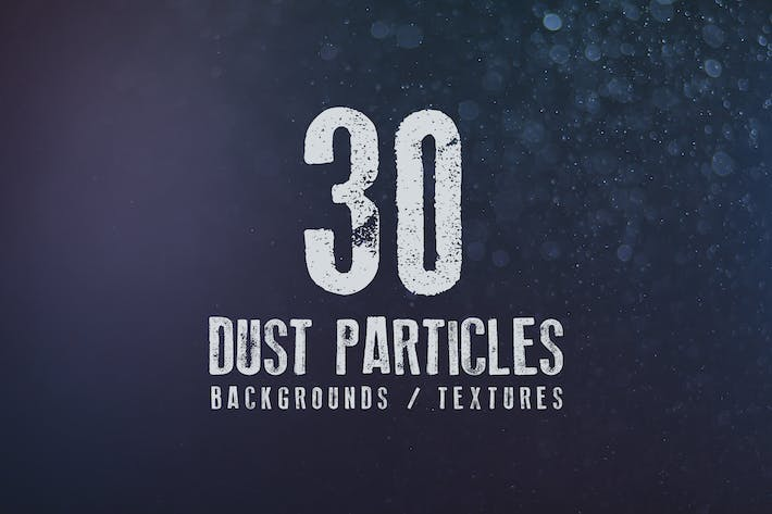 Cover Image For 30 Dust Particles Backgrounds / Textures