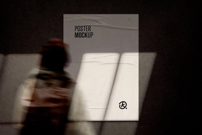 Shadow Overlay Poster Mockup