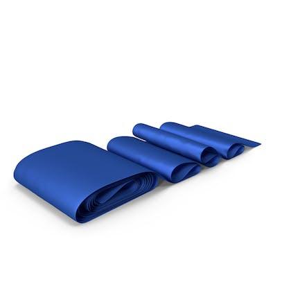Blue Silk Ribbon