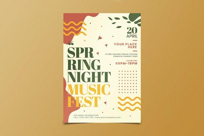 Thumbnail for dépliant Fest du printemps
