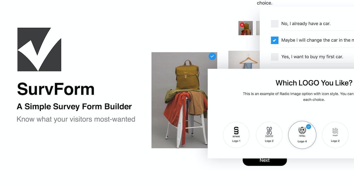 Download SurvForm - Survey Form Builder For WordPress by ThemeVan