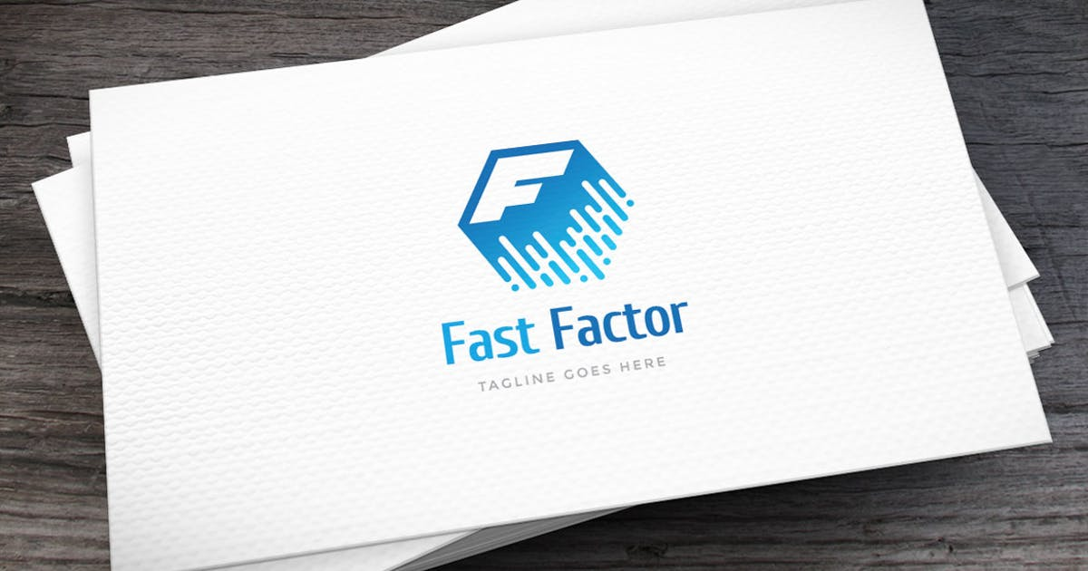 Download Fast Factor Letter F Logo Template by empativo