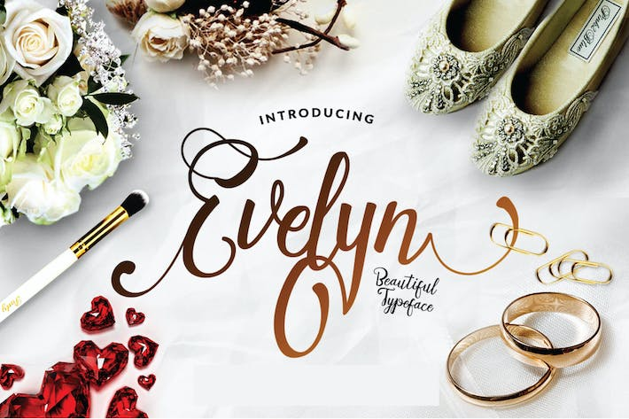 Thumbnail for Evelyn Script