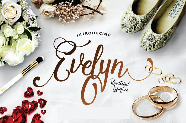 Thumbnail for Evelyn - Wedding Script Elegant Luxury