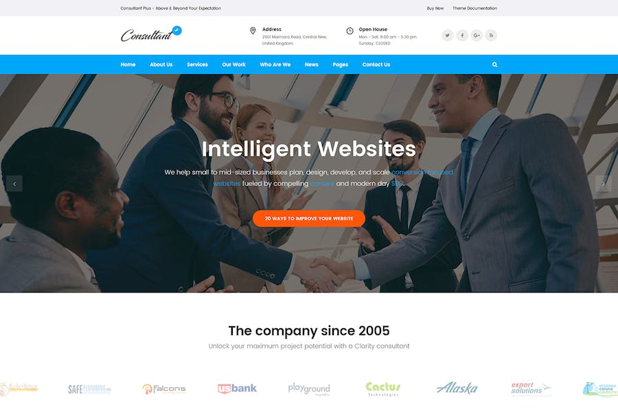 Consolution - Financial Consulting HTML Templates