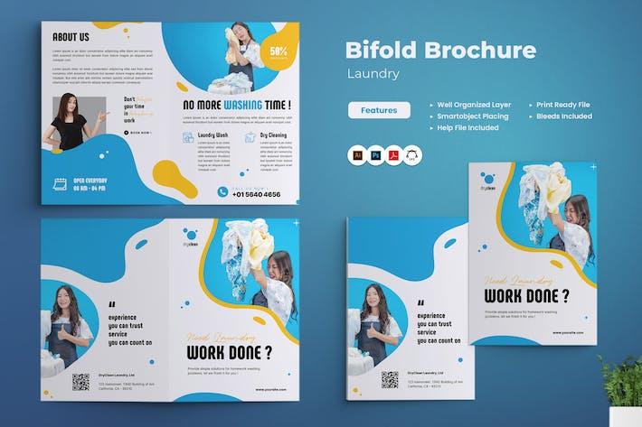 Laundry Bifold Brochure