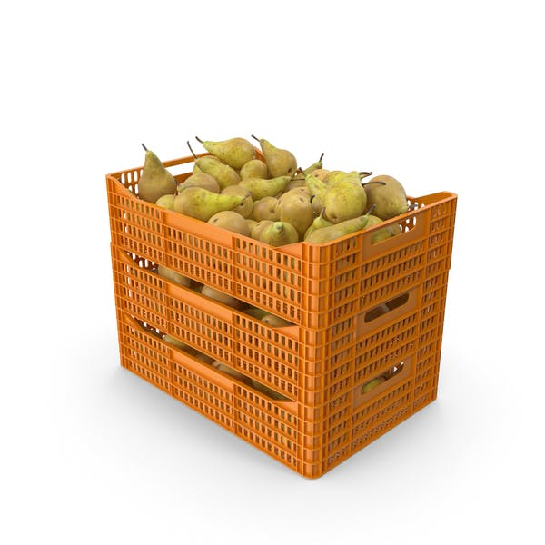 Plastic Crates with Pears Conference