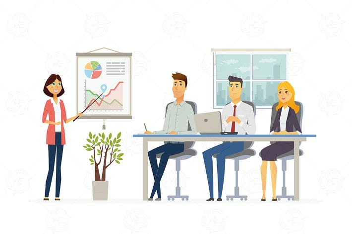 Thumbnail for Business Meeting -  vector illustration