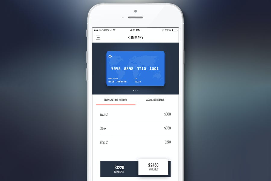 Finance Bank Dashboard