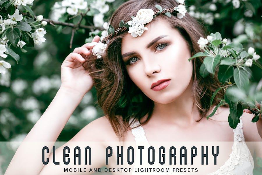Clean Photography Mobile & Desktop Lightroom Prese