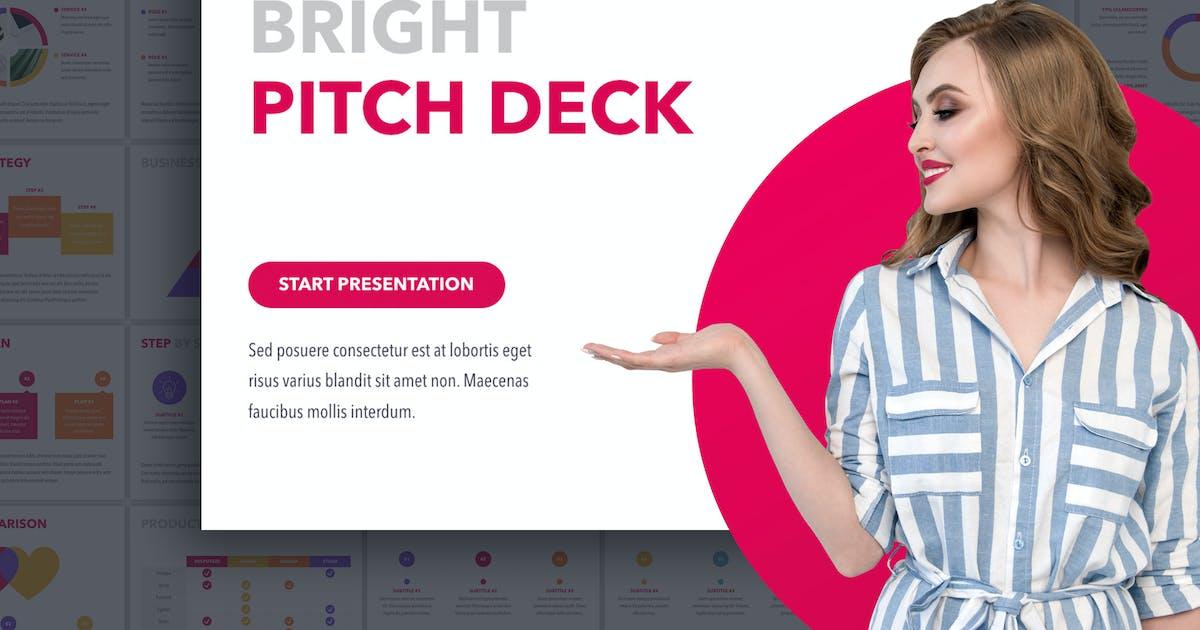 Download Bright Pitch Deck Keynote by Jumsoft