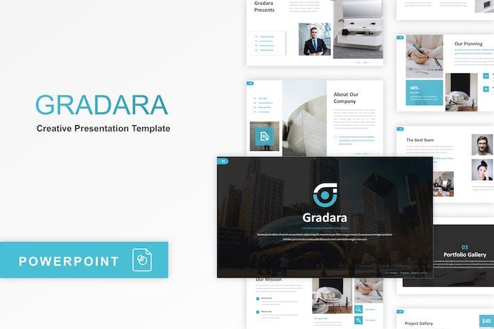 Thumbnail for Gradara - Creative PowerPoint Template