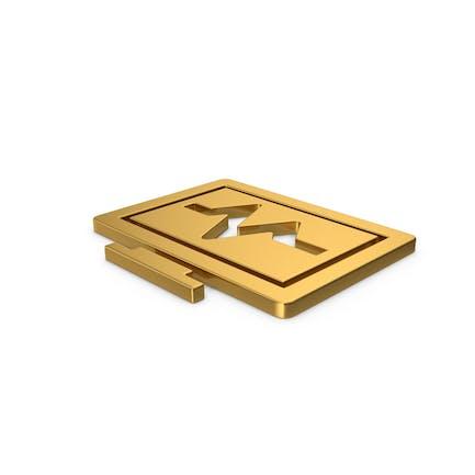 Gold Symbol Health Monitor