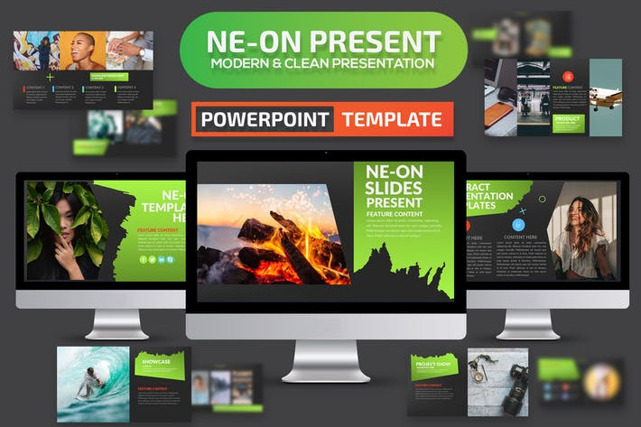Ne-on Powerpoint Presentation Template