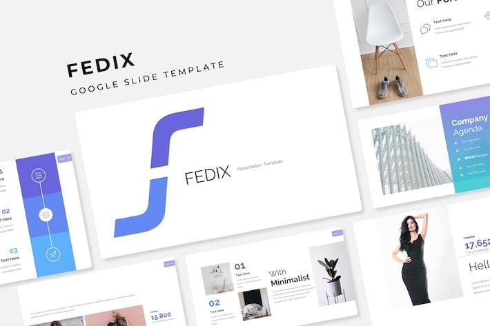 Thumbnail for Fedix - Google Slide Template