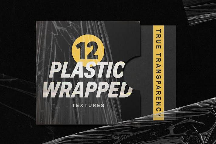 12 kunststoffverpackte Texturen