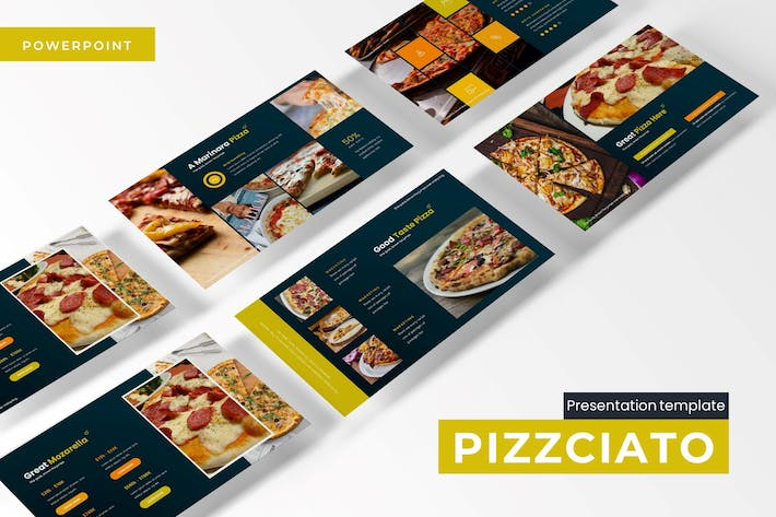 Thumbnail for Pizzicato - Powerpoint Template