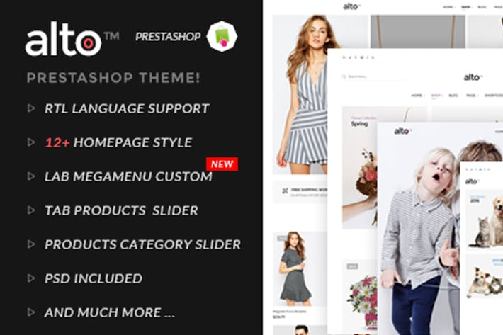Thumbnail for Alto Responsive Prestashop Theme