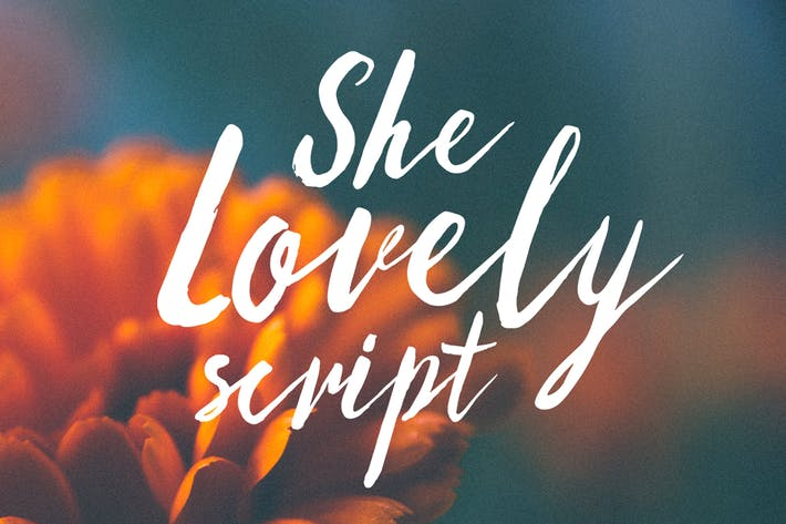 Thumbnail for She Lovely Fonts