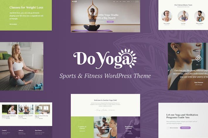 Thumbnail for Do Yoga - Fitness Studio & Yoga Club WP Theme