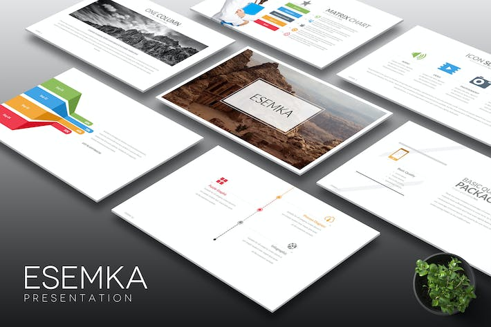 Thumbnail for Esemka - Keynote Template