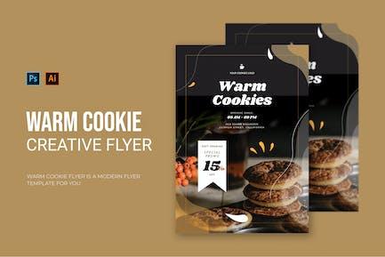 Warm Cookie - Flyer