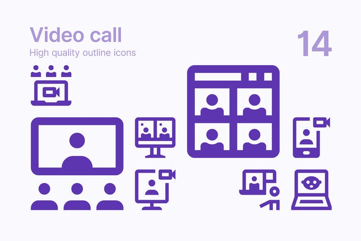 Thumbnail for Video Call Icons