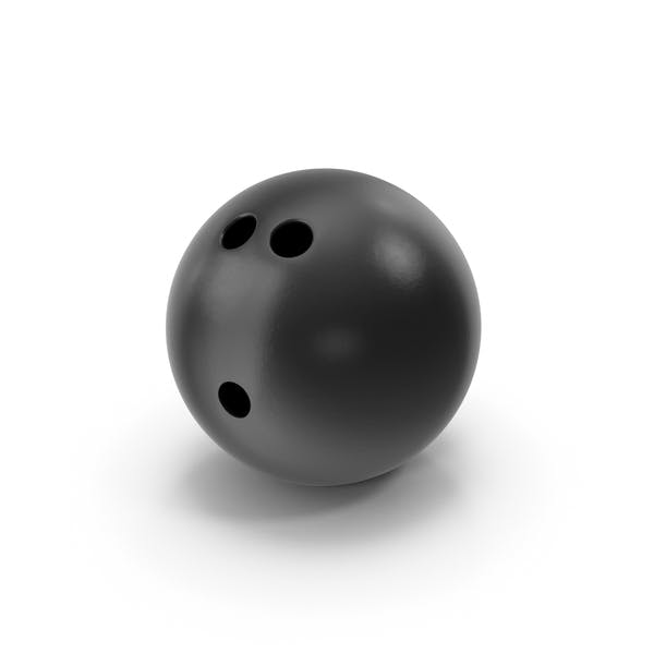 Bowling Ball Black
