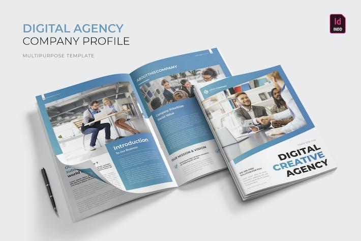 Thumbnail for Digital Agency | Company Profile