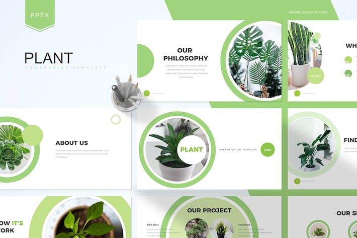 Thumbnail for Plant - Business Powerpoint Template