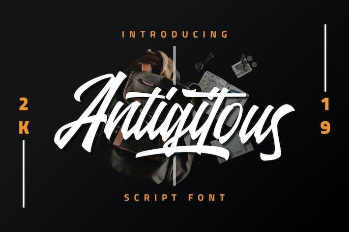 Thumbnail for Antigitous - Fuente de secuencia de comandos