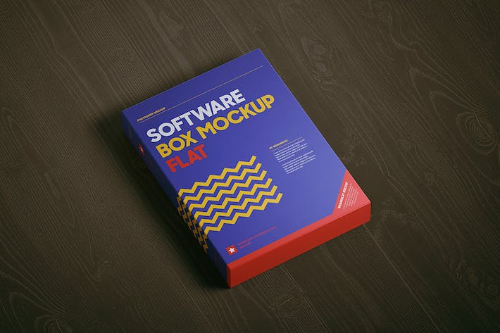 Thumbnail for Software Box Mockup - Flat
