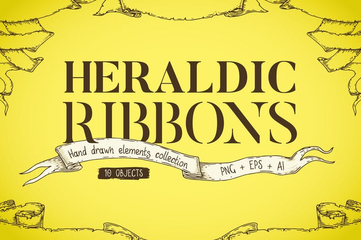 Thumbnail for Heraldic Ribbons Collection