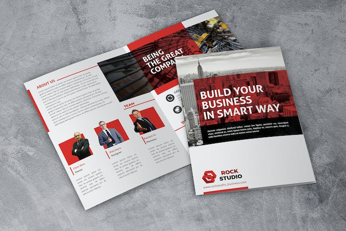 Thumbnail for Build Business - Bifold Brochure