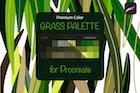 Procreate palette. Grass