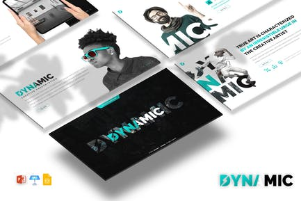Dynamics - Creative PPTX / GSlides / Key Template