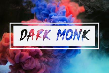 DARK MONK - Pincel Font HR