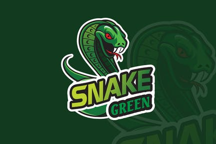 Snake Mascot & eSports Gaming Logo