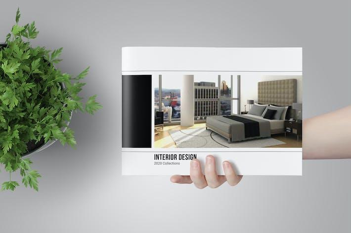 Cover Image For Interior Catalogs Brochure