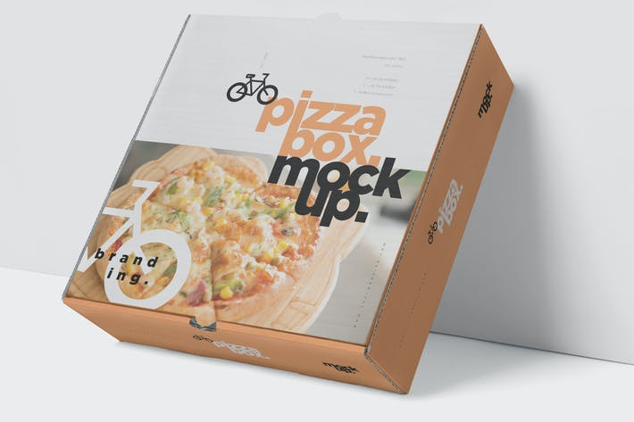 Thumbnail for Pizza Box Mockup - Double Pack