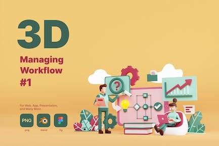 Managing Workflow  - 1