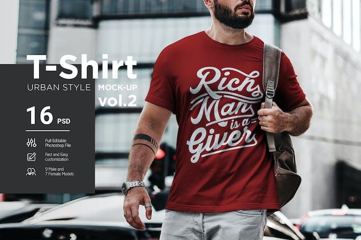Thumbnail for T-Shirt Urban Style Vol2