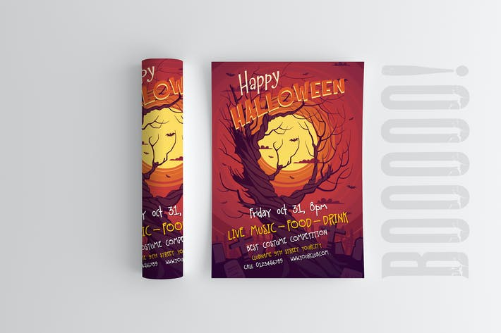 Cover Image For Halloween Flyer