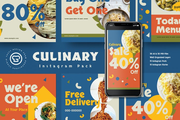 Culinary Food Insta Pack