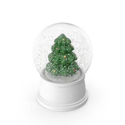 Рождественская елка Снежный Глобус