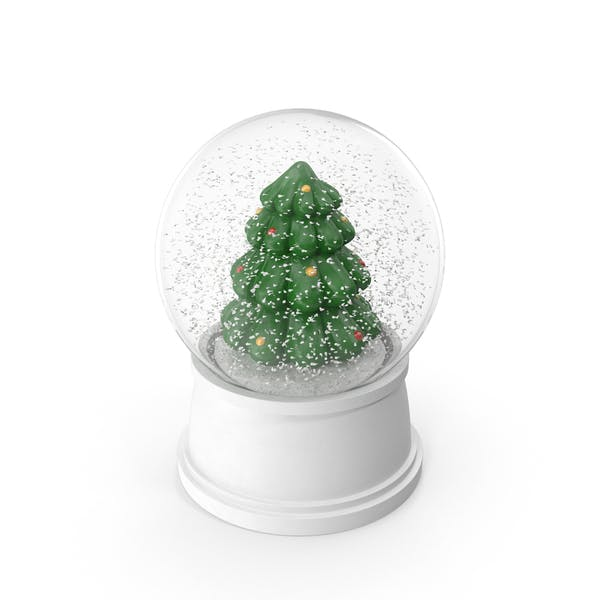 Cover Image for Christmas Tree Snow Globe