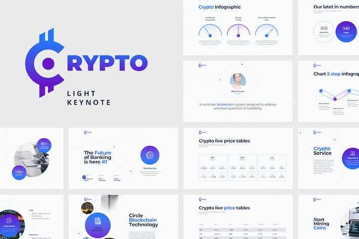 Thumbnail for CRYPTO Keynote Light Template