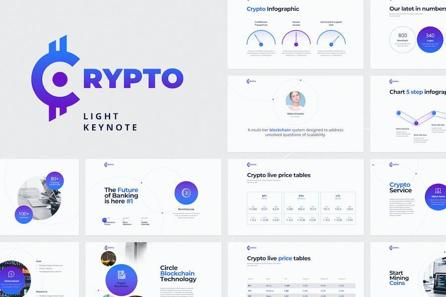 CRYPTO Keynote Light Template